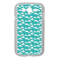 Cloud Blue Sky Sea Beach Bird Samsung Galaxy Grand Duos I9082 Case (white) by Alisyart