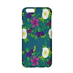 Caterpillar Flower Floral Leaf Rose White Purple Green Yellow Animals Apple Iphone 6/6s Hardshell Case by Alisyart