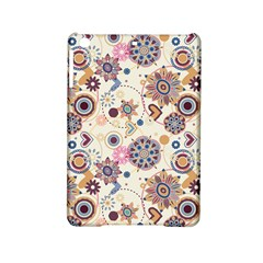 Flower Arrangements Season Floral Purple Love Heart iPad Mini 2 Hardshell Cases by Alisyart