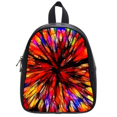 Color Batik Explosion Colorful School Bags (small)  by Amaryn4rt