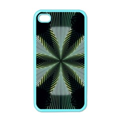 Lines Abstract Background Apple Iphone 4 Case (color)