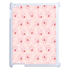 Flower Arrangements Season Pink Apple Ipad 2 Case (white) by Alisyart