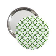 Scissor Green 2 25  Handbag Mirrors by Alisyart