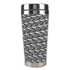 Mandelbuld 3d Metalic Stainless Steel Travel Tumblers by Amaryn4rt