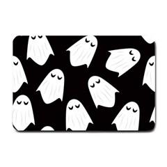 Ghost Halloween Pattern Small Doormat  by Amaryn4rt