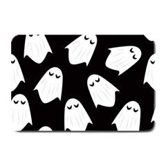 Ghost Halloween Pattern Plate Mats by Amaryn4rt