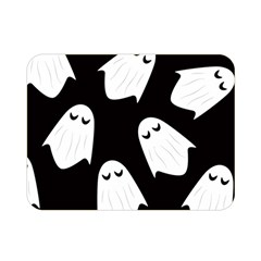 Ghost Halloween Pattern Double Sided Flano Blanket (mini)  by Amaryn4rt