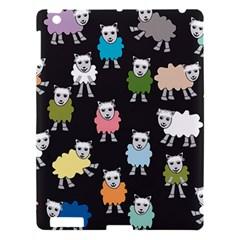 Sheep Cartoon Colorful Apple Ipad 3/4 Hardshell Case by Amaryn4rt
