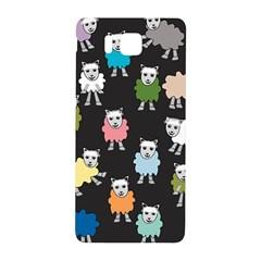 Sheep Cartoon Colorful Samsung Galaxy Alpha Hardshell Back Case by Amaryn4rt