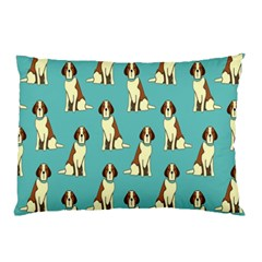 Dog Animal Pattern Pillow Case (two Sides) by Amaryn4rt