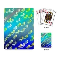 Animal Nature Cartoon Wild Wildlife Wild Life Playing Card by Amaryn4rt
