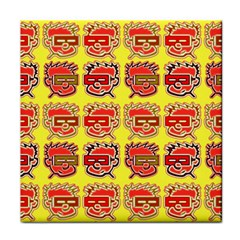 Funny Faces Face Towel by Amaryn4rt