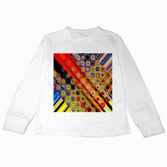 Background Texture Pattern Kids Long Sleeve T Shirts