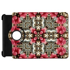Flowers Fabric Kindle Fire Hd 7  by Amaryn4rt