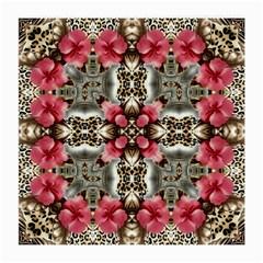 Flowers Fabric Medium Glasses Cloth by Amaryn4rt