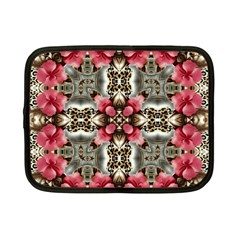 Flowers Fabric Netbook Case (small)