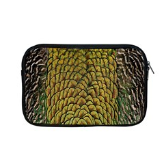 Colorful Iridescent Feather Bird Color Peacock Apple Macbook Pro 13  Zipper Case by Amaryn4rt