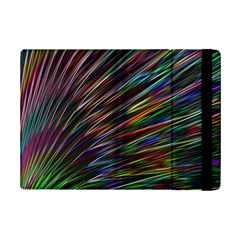 Texture Colorful Abstract Pattern Ipad Mini 2 Flip Cases by Amaryn4rt