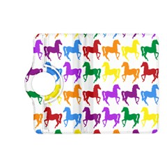 Colorful Horse Background Wallpaper Kindle Fire Hd (2013) Flip 360 Case by Amaryn4rt