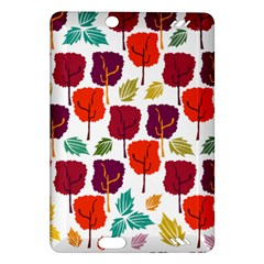 Tree Pattern Background Amazon Kindle Fire Hd (2013) Hardshell Case by Amaryn4rt