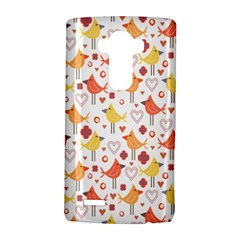 Animal Pattern Happy Birds Seamless Pattern Lg G4 Hardshell Case by Amaryn4rt