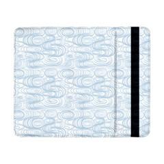 Wind Waves Grey Samsung Galaxy Tab Pro 8 4  Flip Case by Alisyart