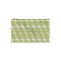 Waves Flower Cosmetic Bag (small)  by Alisyart