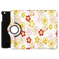 Flower Arrangements Season Rose Gold Apple Ipad Mini Flip 360 Case by Alisyart