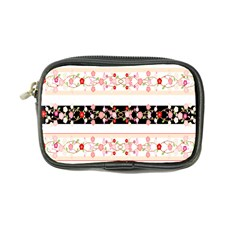 Flower Arrangements Season Floral Rose Pink Black Coin Purse by Alisyart