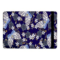 Butterfly Iron Chains Blue Purple Animals White Fly Floral Flower Samsung Galaxy Tab Pro 10 1  Flip Case by Alisyart