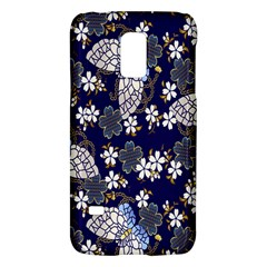 Butterfly Iron Chains Blue Purple Animals White Fly Floral Flower Galaxy S5 Mini by Alisyart