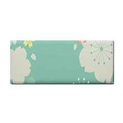 Flower Blue Pink Yellow Cosmetic Storage Cases by Alisyart