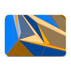 Abstract Background Pattern Plate Mats by Amaryn4rt
