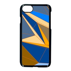 Abstract Background Pattern Apple Iphone 7 Seamless Case (black)
