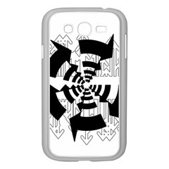 Arrows Top Below Circuit Parts Samsung Galaxy Grand Duos I9082 Case (white) by Amaryn4rt