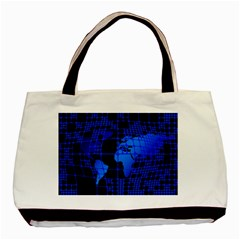 Network Networking Europe Asia Basic Tote Bag (two Sides)
