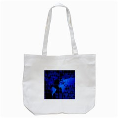 Network Networking Europe Asia Tote Bag (white)