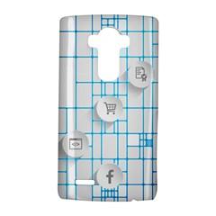 Icon Media Social Network Lg G4 Hardshell Case by Amaryn4rt