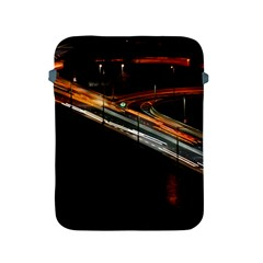 Highway Night Lighthouse Car Fast Apple Ipad 2/3/4 Protective Soft Cases by Amaryn4rt