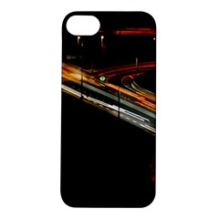 Highway Night Lighthouse Car Fast Apple Iphone 5s/ Se Hardshell Case by Amaryn4rt