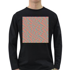 Background Abstract Colorful Long Sleeve Dark T-Shirts