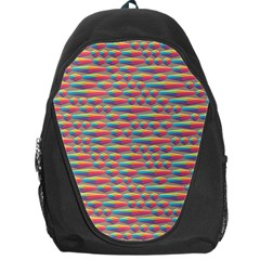 Background Abstract Colorful Backpack Bag