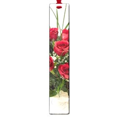 Red Roses Roses Red Flower Love Large Book Marks by Amaryn4rt