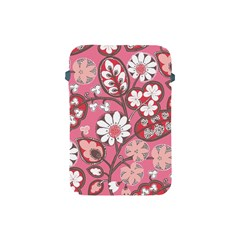 Flower Floral Red Blush Pink Apple Ipad Mini Protective Soft Cases by Alisyart