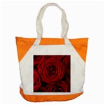 Roses Flowers Red Forest Bloom Accent Tote Bag