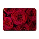 Roses Flowers Red Forest Bloom Small Doormat