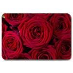Roses Flowers Red Forest Bloom Large Doormat