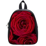 Roses Flowers Red Forest Bloom School Bags (Small)