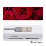 Roses Flowers Red Forest Bloom Memory Card Reader (Stick)