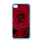 Roses Flowers Red Forest Bloom Apple iPhone 4 Case (Color)